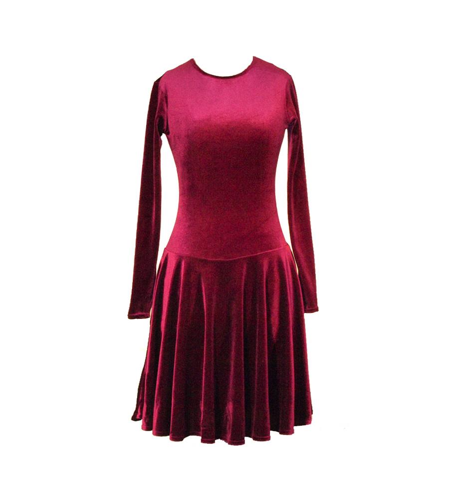 Из чего сшить бархатное платье 383